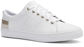 Tommy Hilfiger Gilded White Leather Sneaker