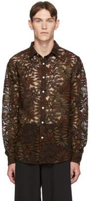 Hope Brown Air Clean Lace Shirt