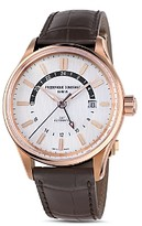 Frederique Constant Yacht Timer Gmt Watch, 42mm