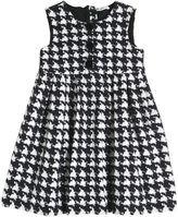 Dolce & Gabbana Houndstooth Cotton Interlock Dress