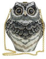 Judith Leiber Owl Crystal Box Bag