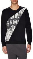 Lot 78 Print Crewneck Sweatshirt