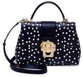 Dolce & Gabbana Lucia Polka Dot Leather Bag
