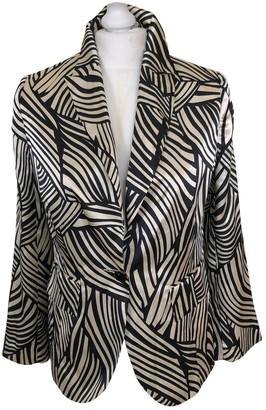 Guy Laroche Multicolour Silk Jacket for Women Vintage