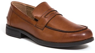 Deer Stags Fund Faux Leather Penny Loafer - Wide Width Available