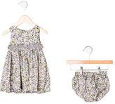 Lili Gaufrette Infant Girls' Sleeveless Floral Dress Set