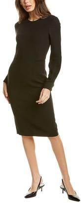 Max Mara Primavera Wool-Blend Sheath Dress