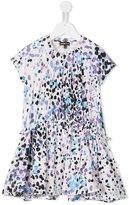 Roberto Cavalli animal print dress - kids - Cotton/Spandex/Elastane - 7 yrs