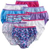 Hanes Girls 4-16 9-pk. Cotton Brief Panties