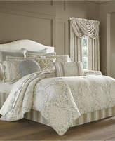 J Queen New York Romano Ice Blue 4-Pc. California King Comforter Set