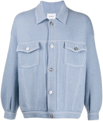 Barrie Knit Button Up Jacket