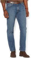 Polo Ralph Lauren Men's Big and Tall Straight-Fit Stanton-Wash Jean