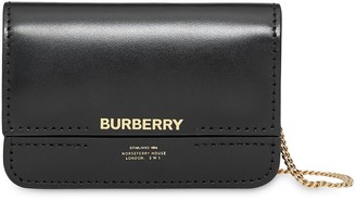 Burberry Horseferry Print Card Case with Detachable Strap