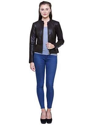 Albapelle Women's Leather Overcoat