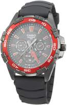 Casio Men's MTD1069B-1A2V Resin Quartz Watch with Dial