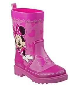 Disney Minnie Mouse's Every Step Rain Boots