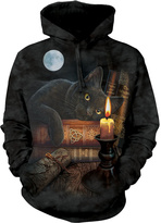 The Mountain Black The Witching Hour Hoodie - Unisex