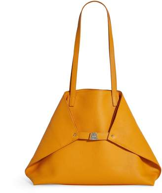 Akris Large Leather Ai Shoulder Bag
