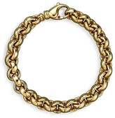 Roberto Coin 18K Yellow Gold Small Round Link Bracelet - Bloomingdale's Exclusive