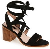Topshop Women's 'Nadra' Lace-Up Sandal