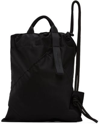 Issey Miyake Black Kinchaku Backpack