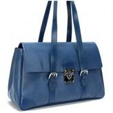 Louis Vuitton very good (VG Blue Epi Leather Segur MM Bag