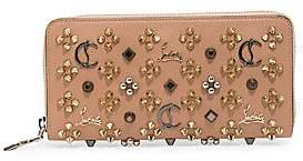 Christian Louboutin Women's Panettone Studded Leather Wallet