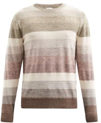 Paul Smith Striped Crew-neck Sweater - Beige Multi