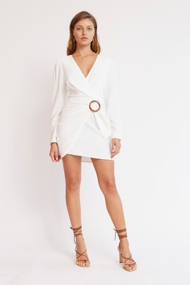 Finders Keepers LULU MINI DRESS Ivory