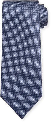 Brioni Multi Hexagon Silk Tie