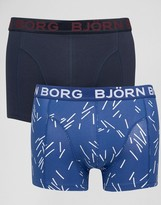 Bjorn Borg 2 Pack Trunks