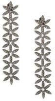 Adriana Orsini Anise Linear Crystal Drop Earrings