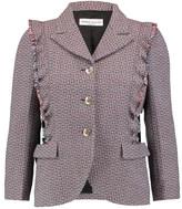 Sonia Rykiel Wool-tweed blazer