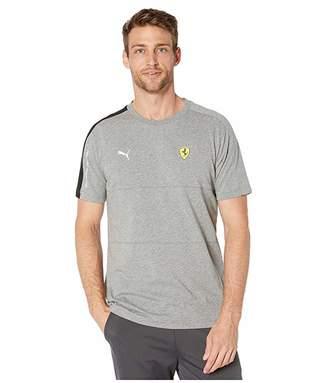Puma SF T7 Tee (Medium Grey Heather) Men's Short Sleeve Pullover