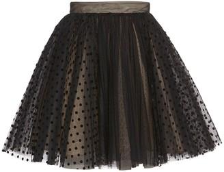 BROGNANO Tulle Mini Skirt
