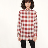 Maje Checked shirt