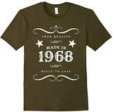 "Kids 49th Birthday T-Shirt. ""Made in 1968"" Gift Tee 12"