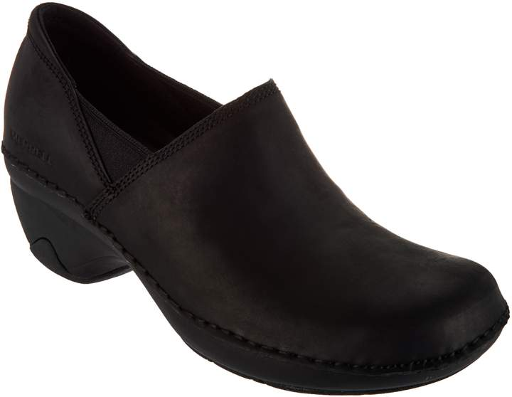 11d9b686 Water Resistant Leather Slip-On Shoes - Emma Leather