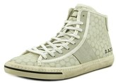 D.A.T.E Tender High Plus Beecomb Canvas Fashion Sneakers.