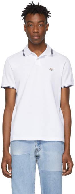 fa57b42ce Moncler Men's Polos - ShopStyle