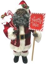 Santa's Workshop 16″ African American North Pole Santa