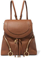 See by Chloe Olga Medium Textured-leather Backpack - Tan
