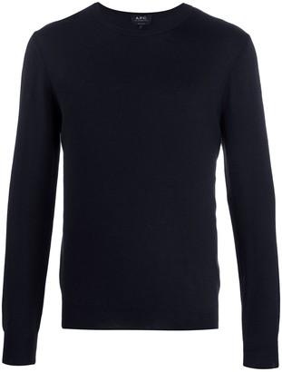 A.P.C. Achille fine knit jumper