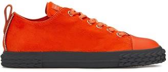 Giuseppe Zanotti Fur Panel Sneakers