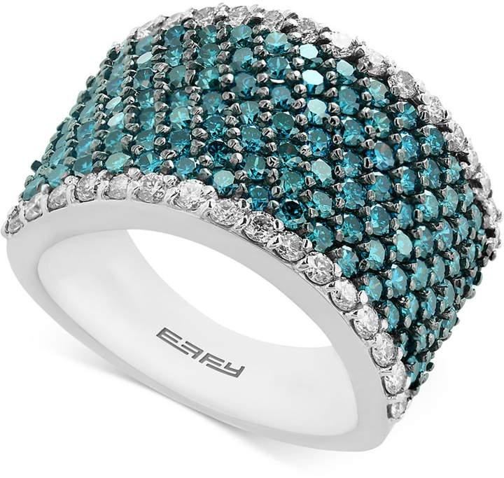 Effy Diamond Ring (2-3/4 ct. t.w.) in 14k White Gold