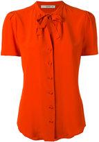 Etro tied neck buttoned blouse - women - Silk - 42