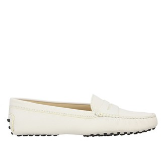 Tod's Tods Loafers Tods New Gommini Loafers In Hammered Leather With Sleeper