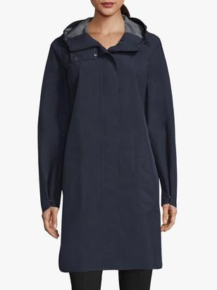 Betty Barclay Longline Waterproof Raincoat, Deep Navy