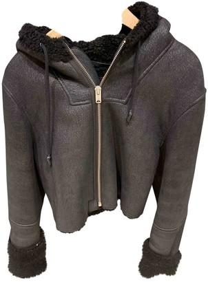 Yeezy Black Leather Jackets