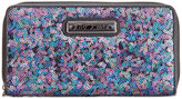 Betsey Johnson Boxed Sequin Zip Around Wallet, Only At Macy's